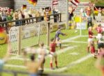 Noch 14399 Laser Cut Minis - Goalposts (2) & Corner Flags (4)